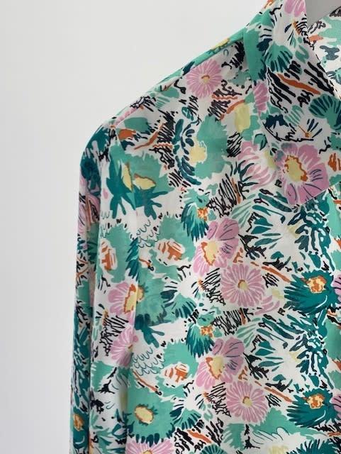 Norea blouse Green-2