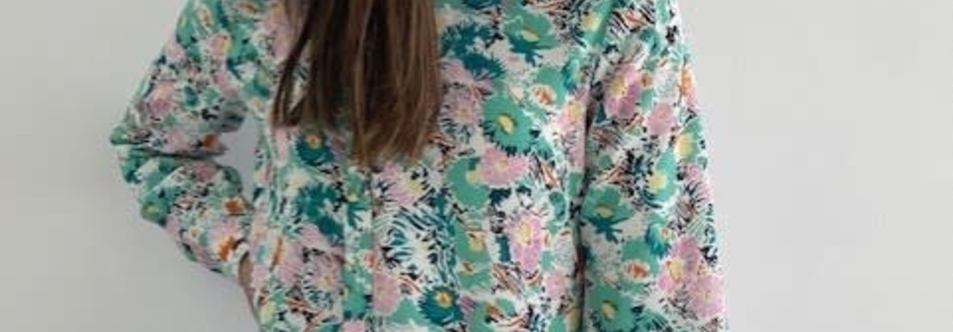 Norea blouse Green