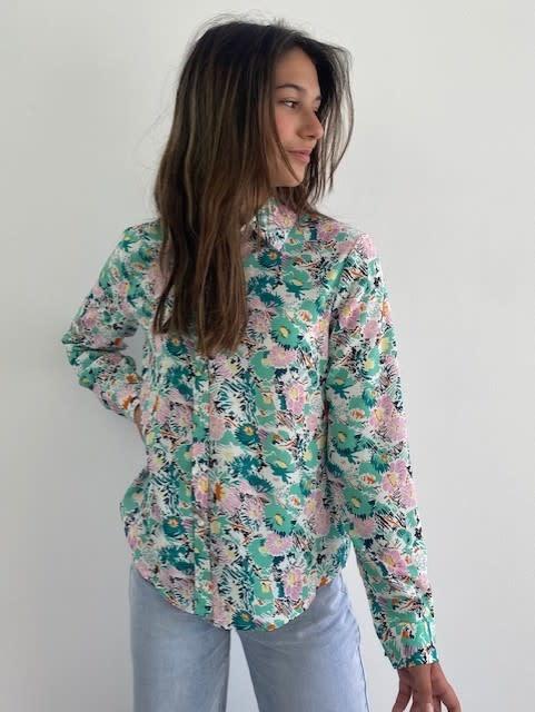 Norea blouse Green-1