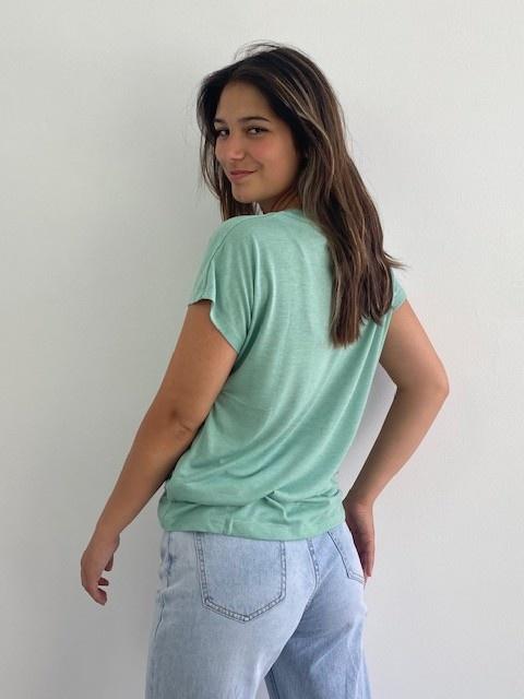 Lovëa essential t-shirt Green-2