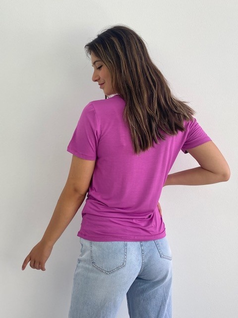 Nana essential t-shirt Violet-2
