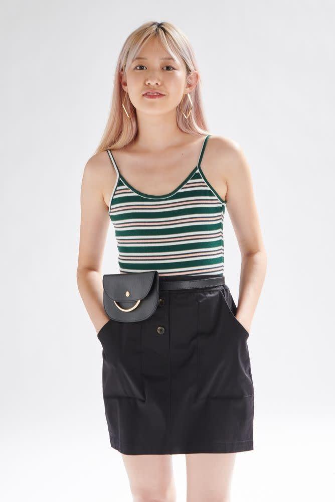 Myke skirt Black-1