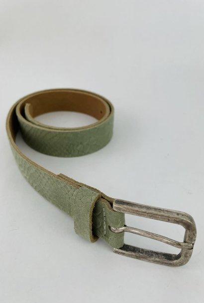Sneaya leather belt Khaki