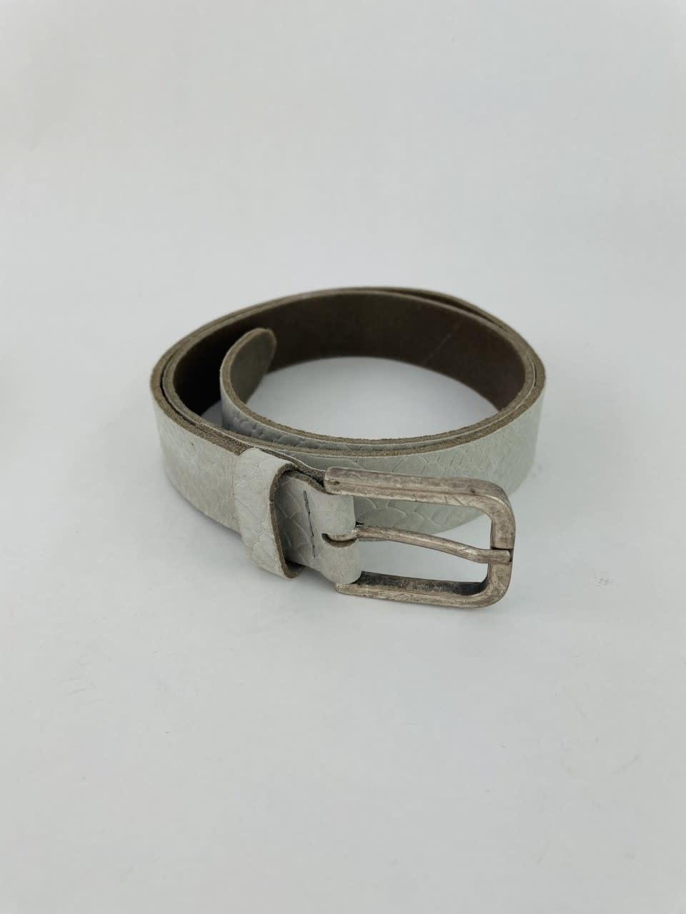 Sneaya leather belt Moss-2