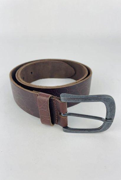 Crolette leather belt Brown