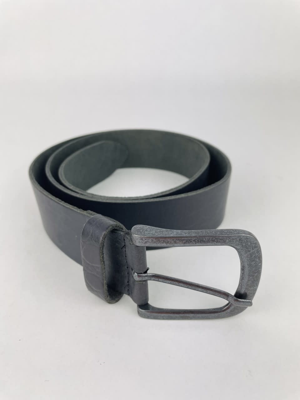 Crolette leather belt Black-1