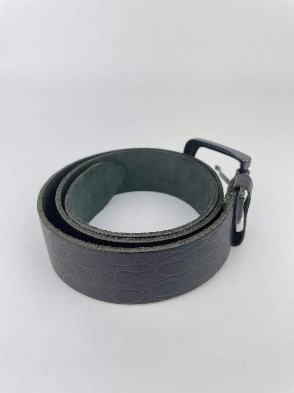 Crolette leather belt Black-3