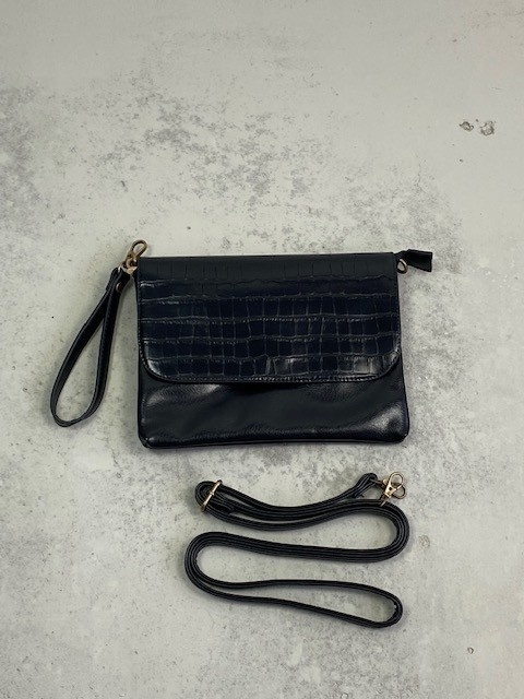 Munco croco bag Black-2