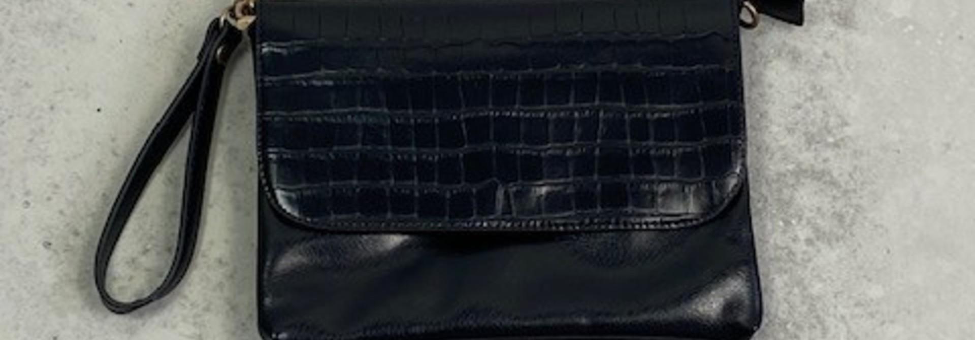 Munco croco bag Black