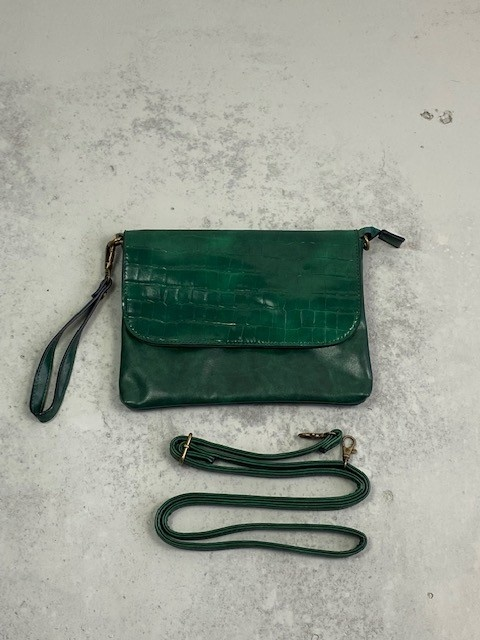 Munco croco bag Pine-2