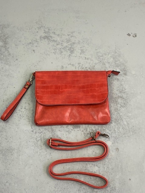 Munco croco bag Orange-2