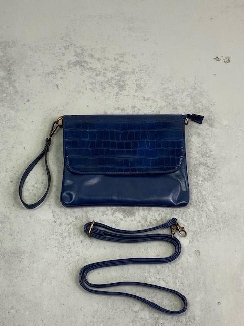 Munco croco bag Blue-2