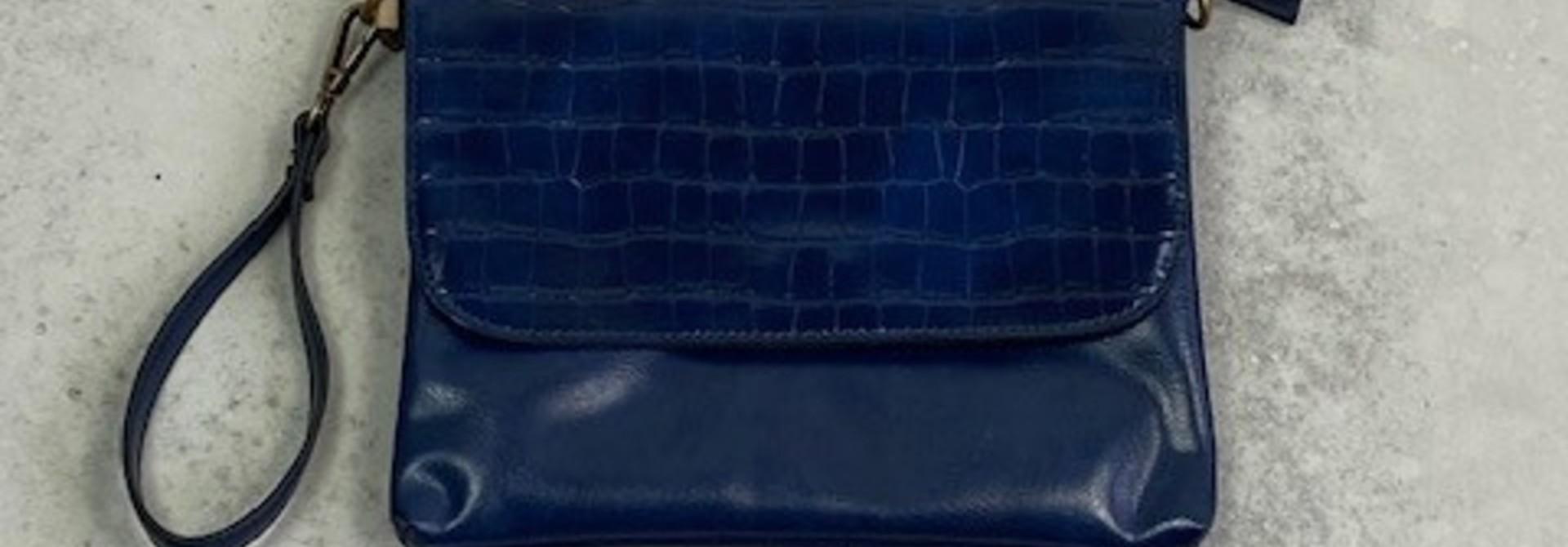 Munco croco bag Blue