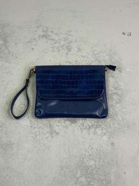Munco croco bag Blue-1