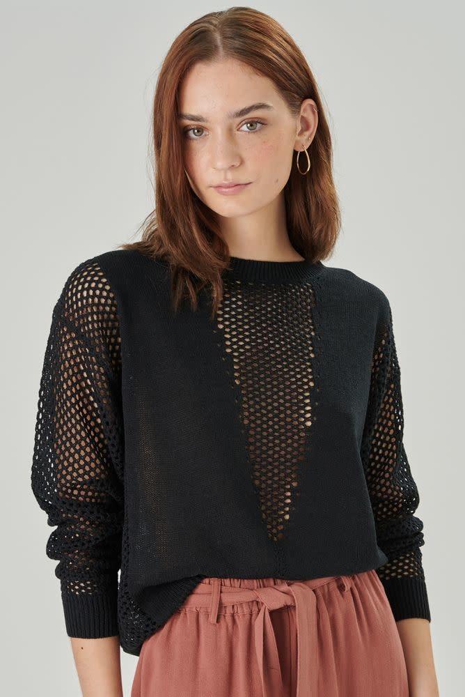Delia pullover Black-1
