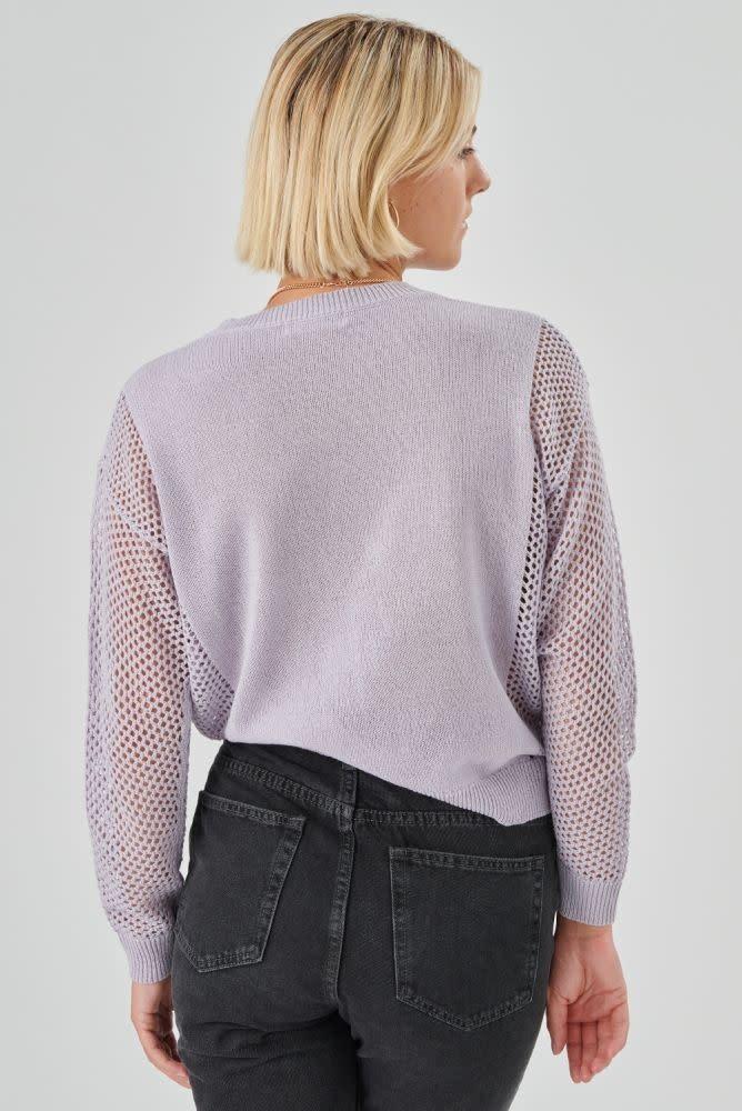 Delia pullover Lila-3
