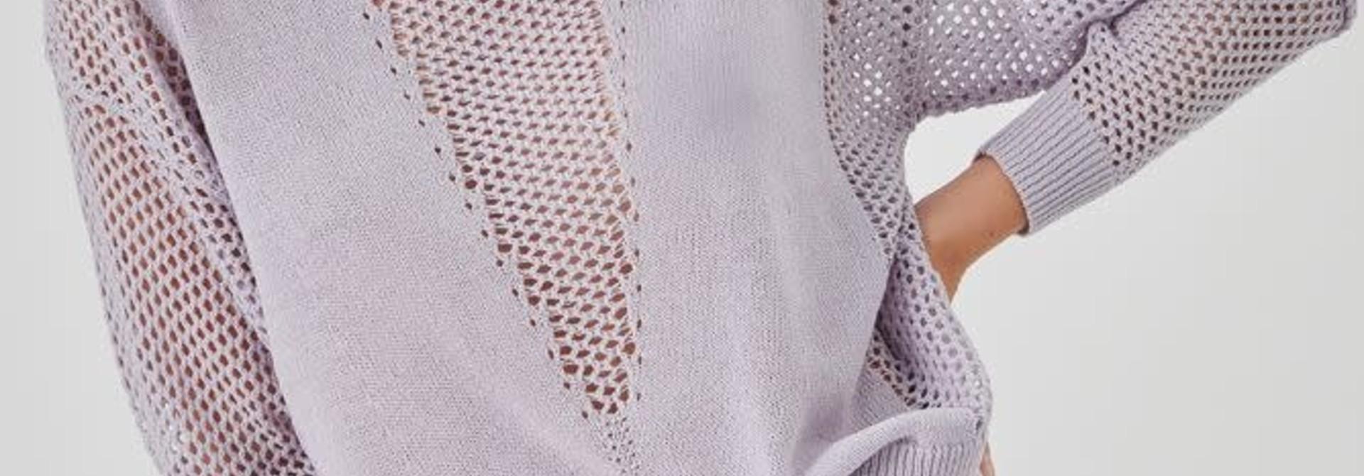 Delia pullover Lila