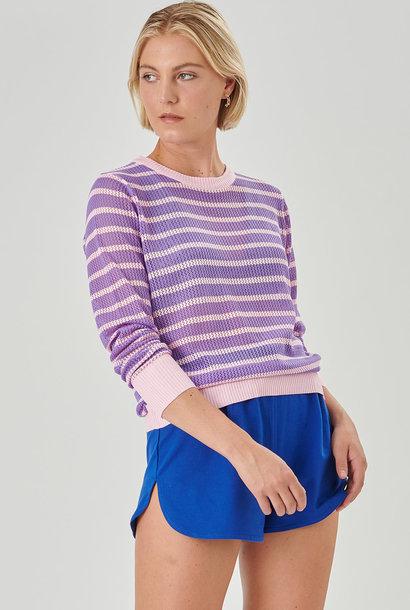 Robina knitted sweater Lila