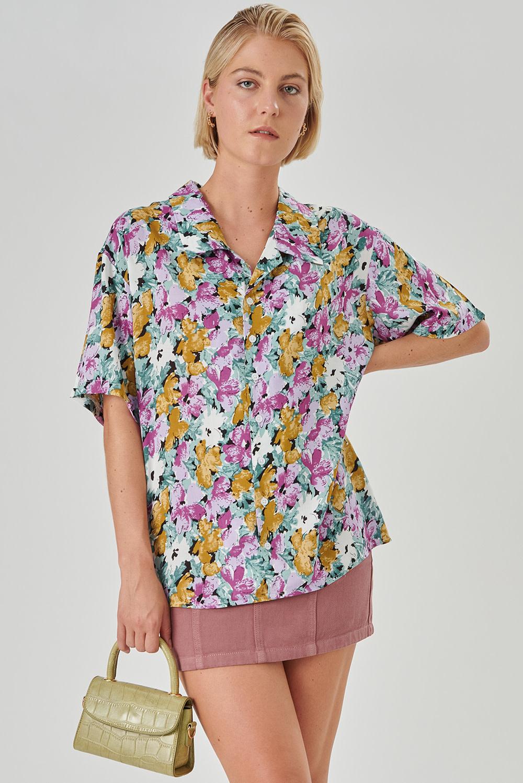 Isabella blouse Lila-1