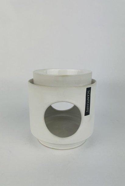 Scentburner Dôme large White