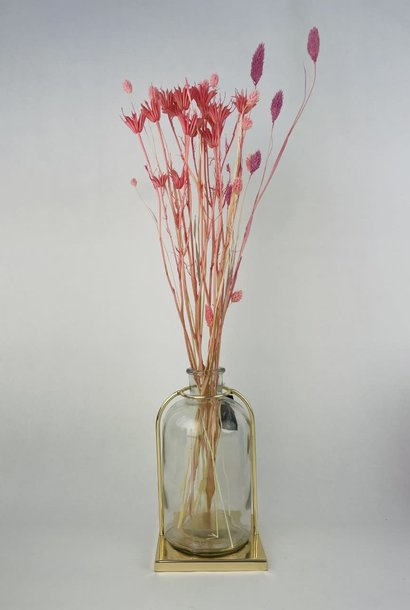 Kirby framed vase 12x20 Gold
