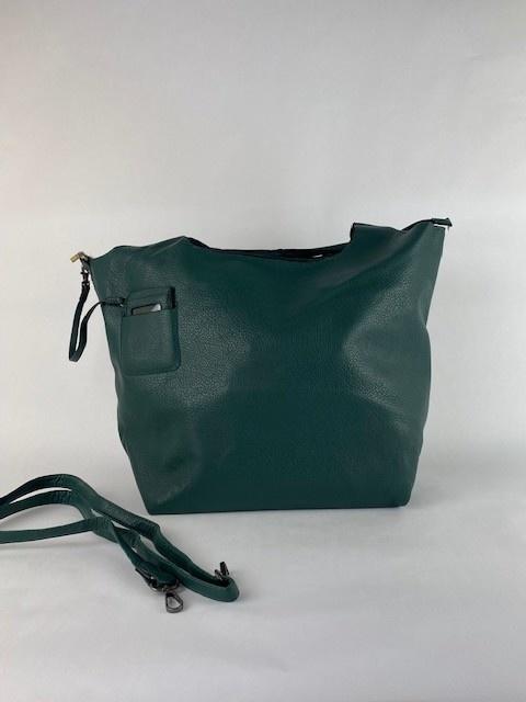 Roxanne big bag shopper Petrol-2
