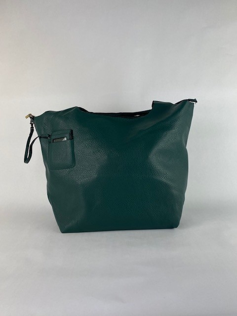 Roxanne big bag shopper Petrol-1