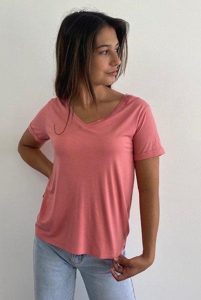 Marjan essential t-shirt Old Rose