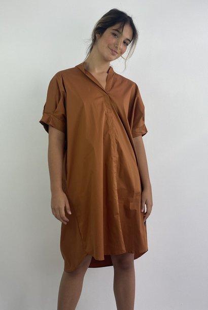 Brianna oversized dress Camel
