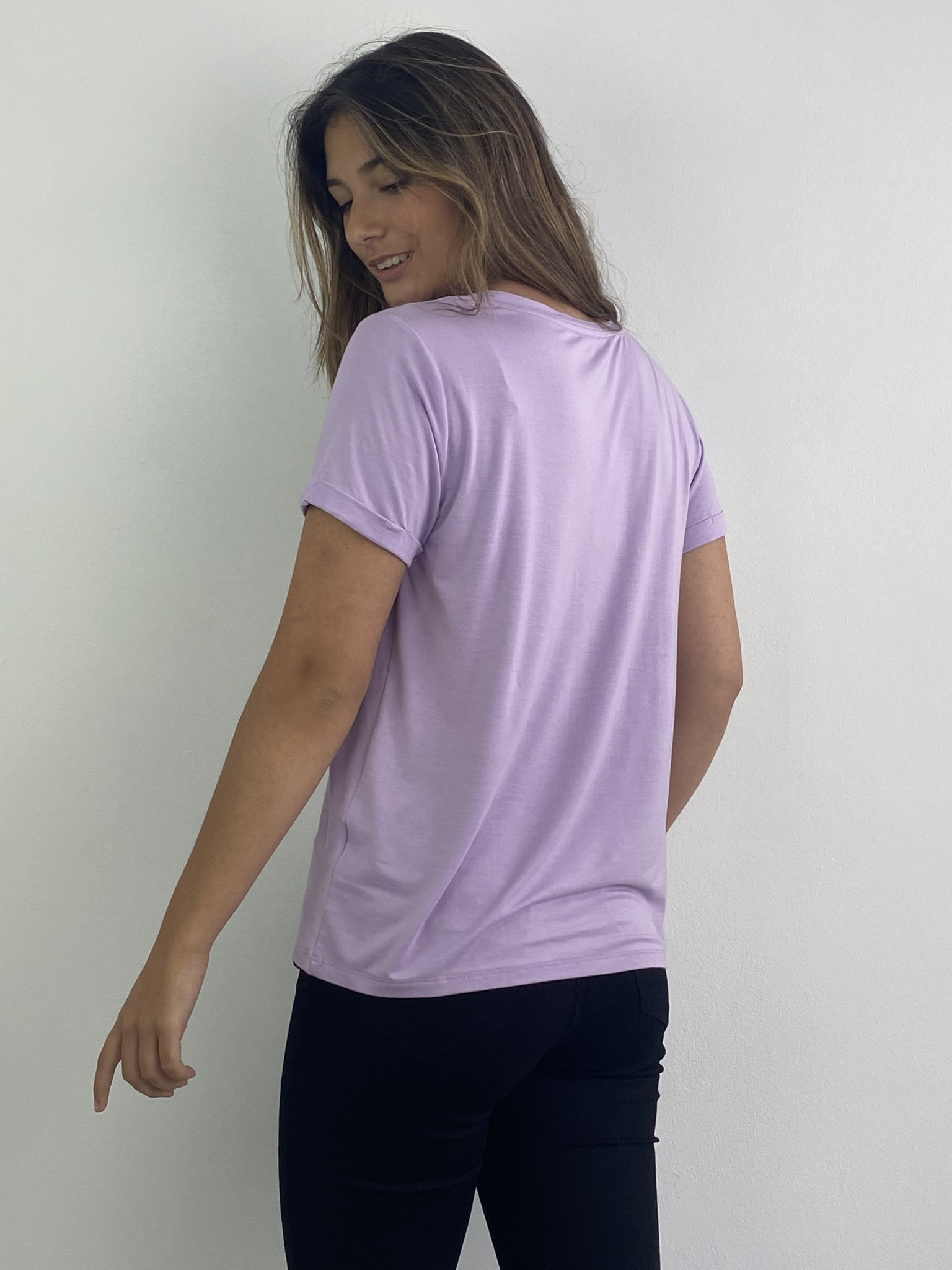 Marjan essential t-shirt Lila-2