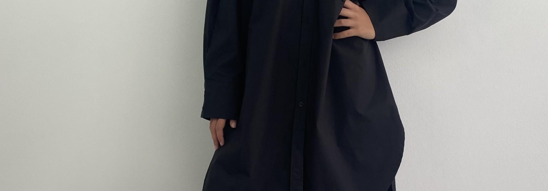 Andrea oversized shirt Black