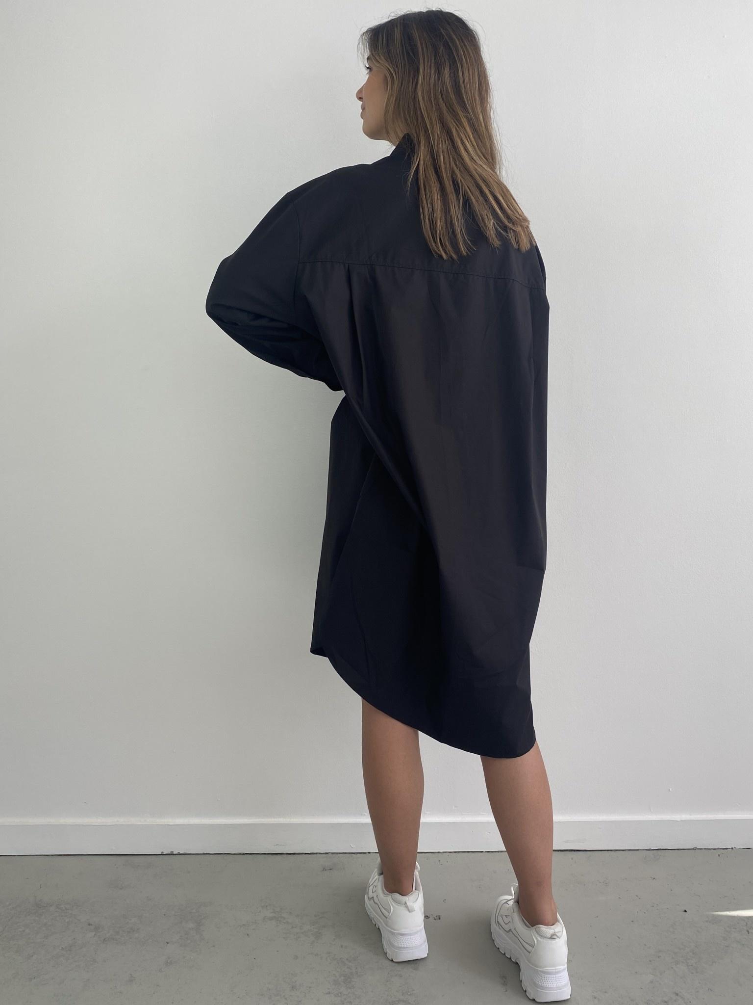 Andrea oversized shirt Black-4
