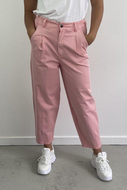 Fraya mom stretch trouser Pink