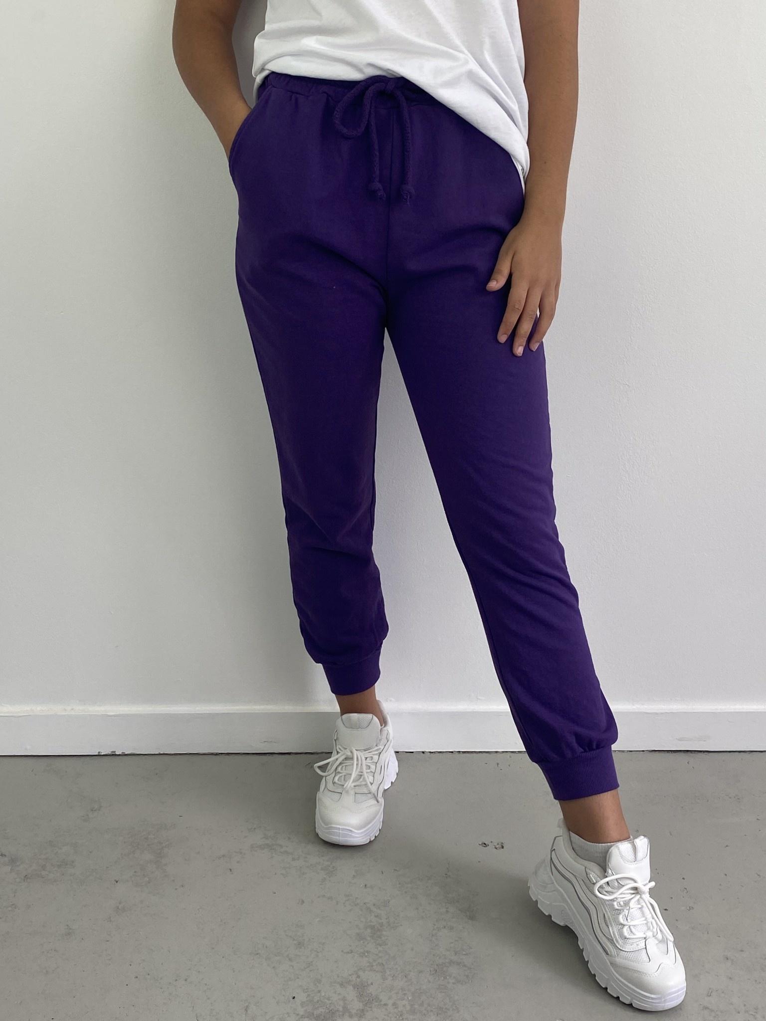 Sunki sweatpant Purple-1