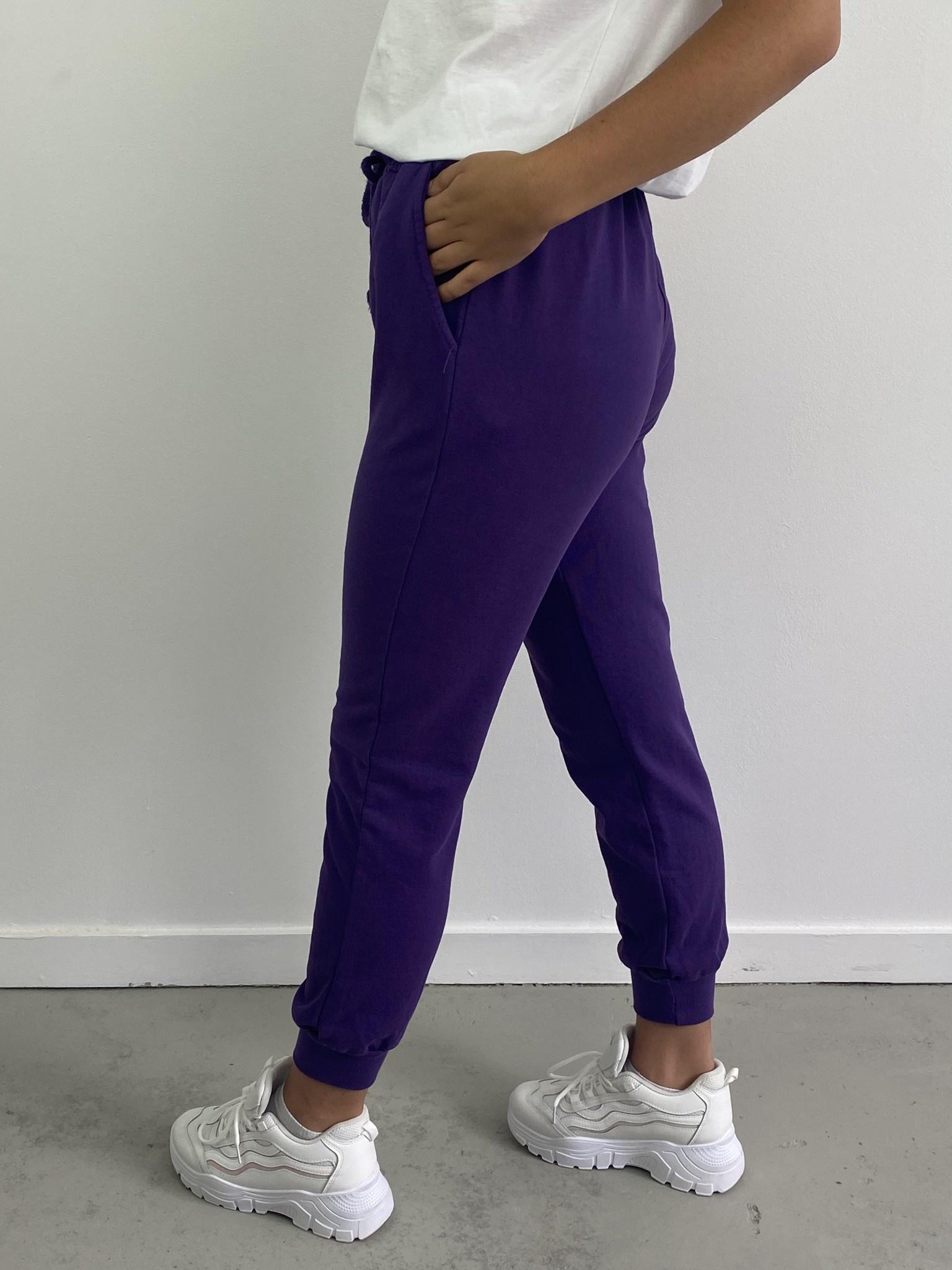 Sunki sweatpant Purple-3
