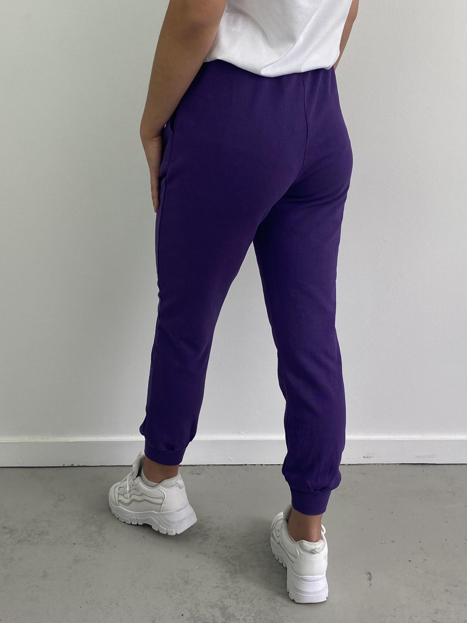Sunki sweatpant Purple-4