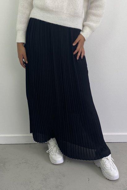 Emanuelle pleated skirt Black