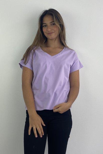 Jacky essential t-shirt Lila