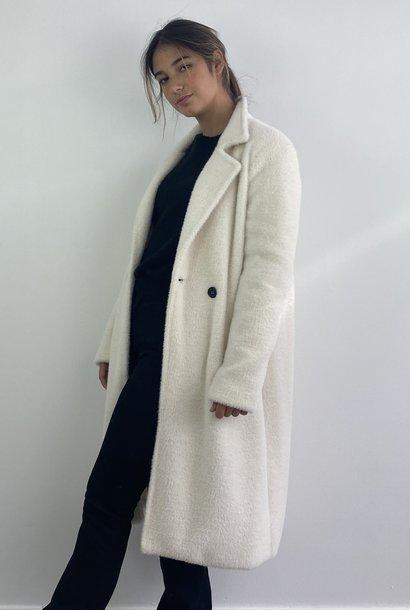 Karas fluffy coat Snow White