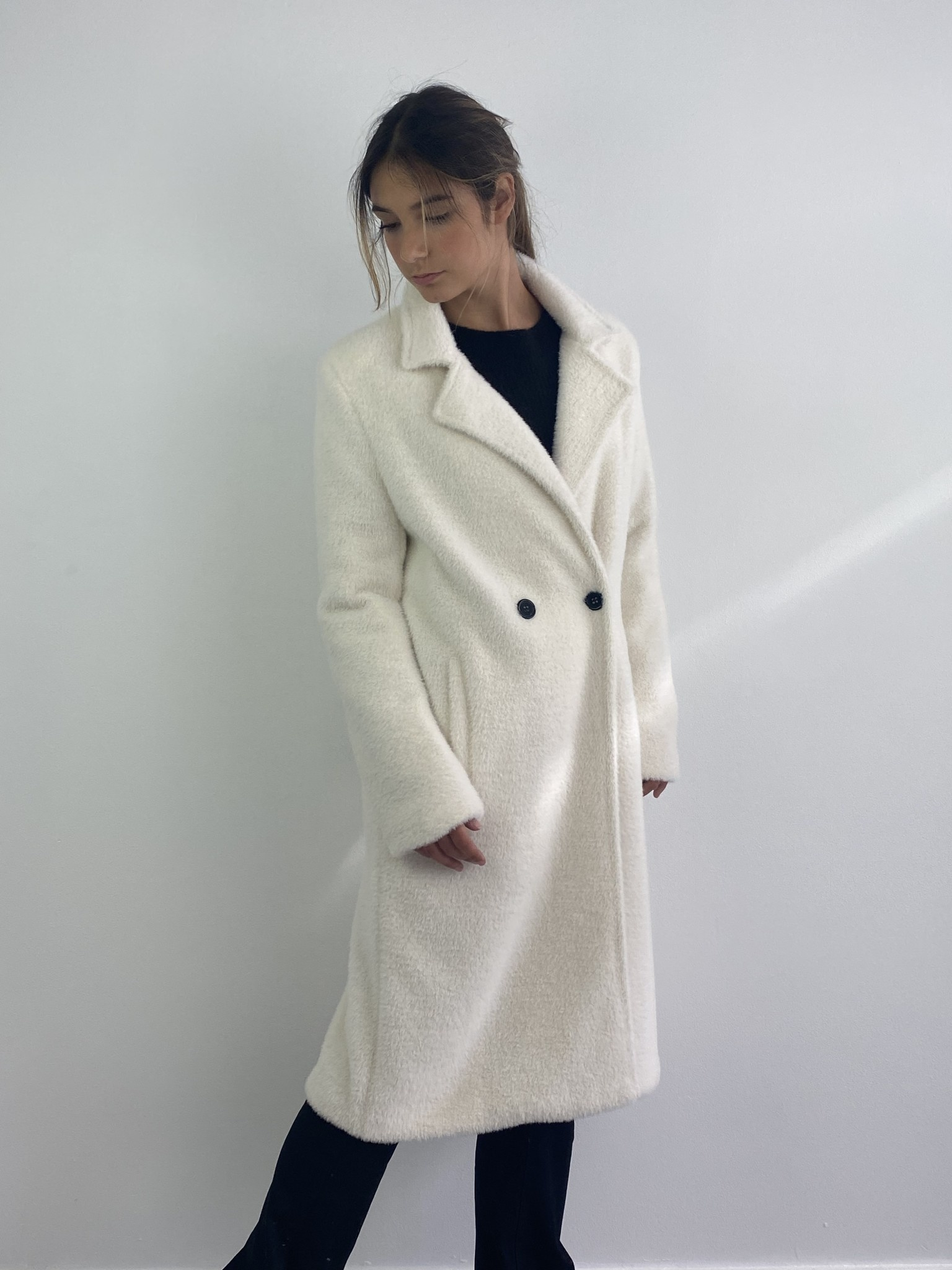 Karas fluffy coat Snow White-4
