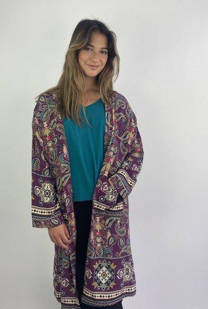 Napua kimono Violet