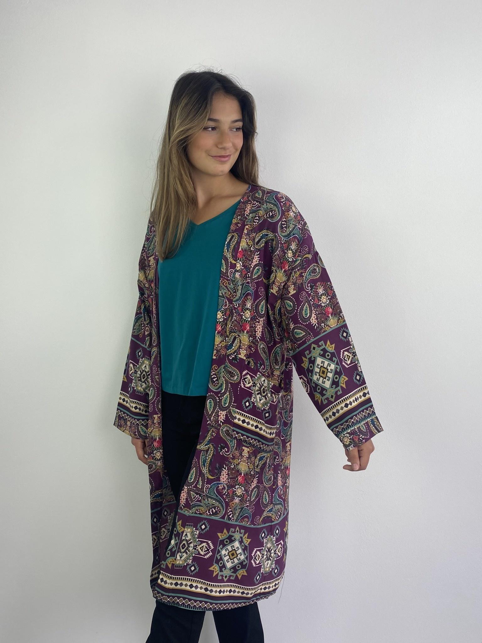 Napua kimono Violet-4