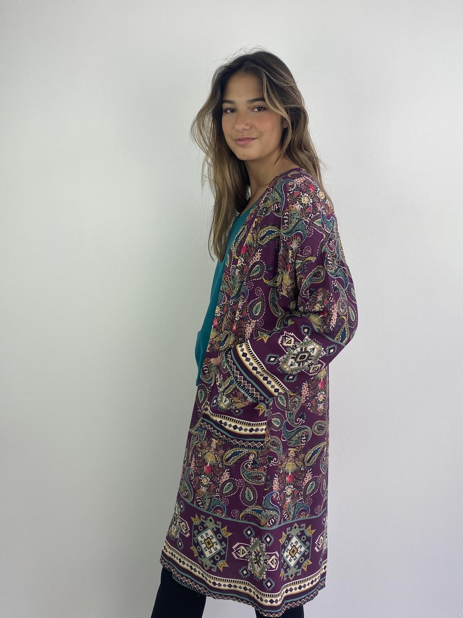 Napua kimono Violet-2