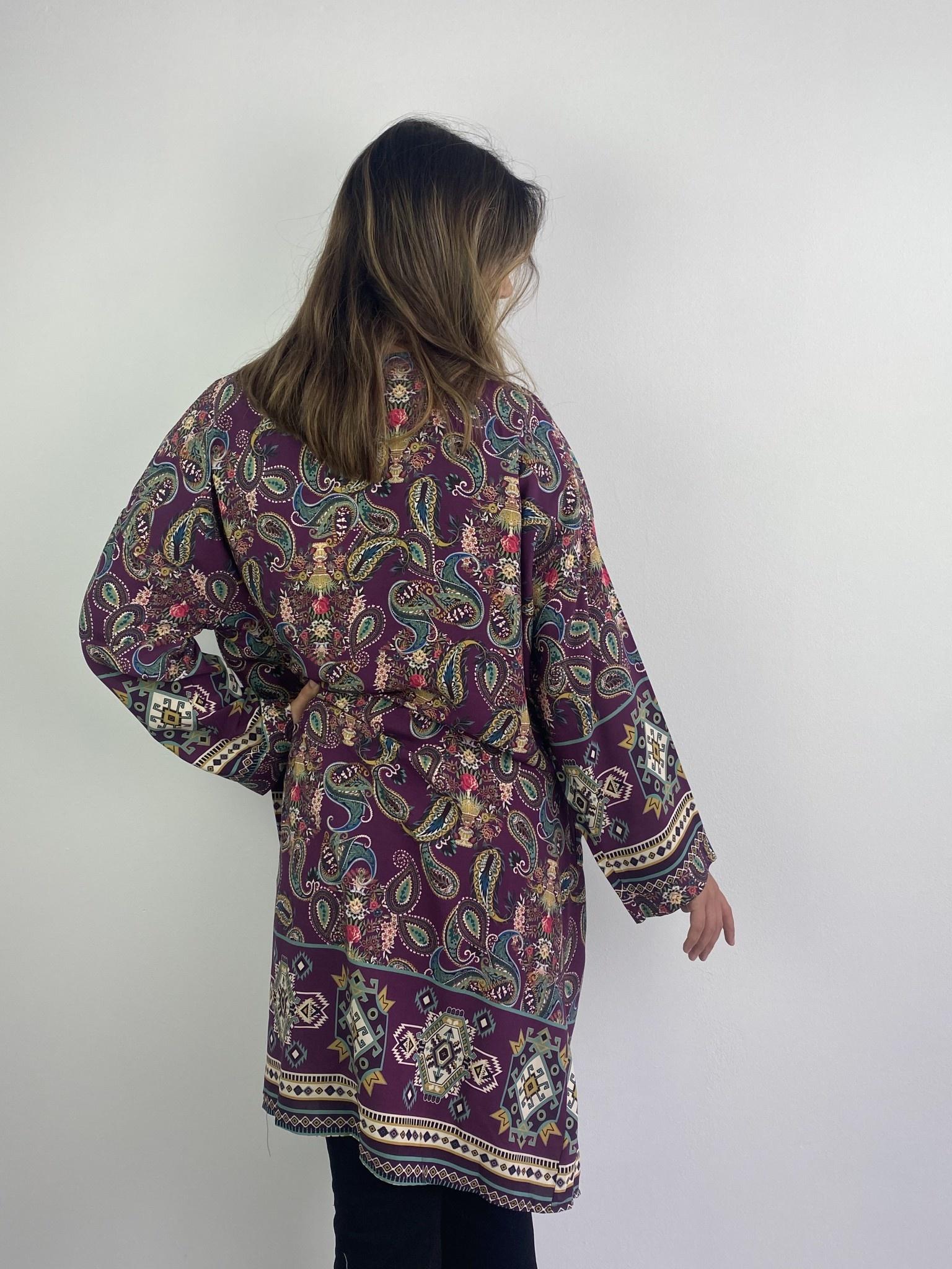 Napua kimono Violet-3
