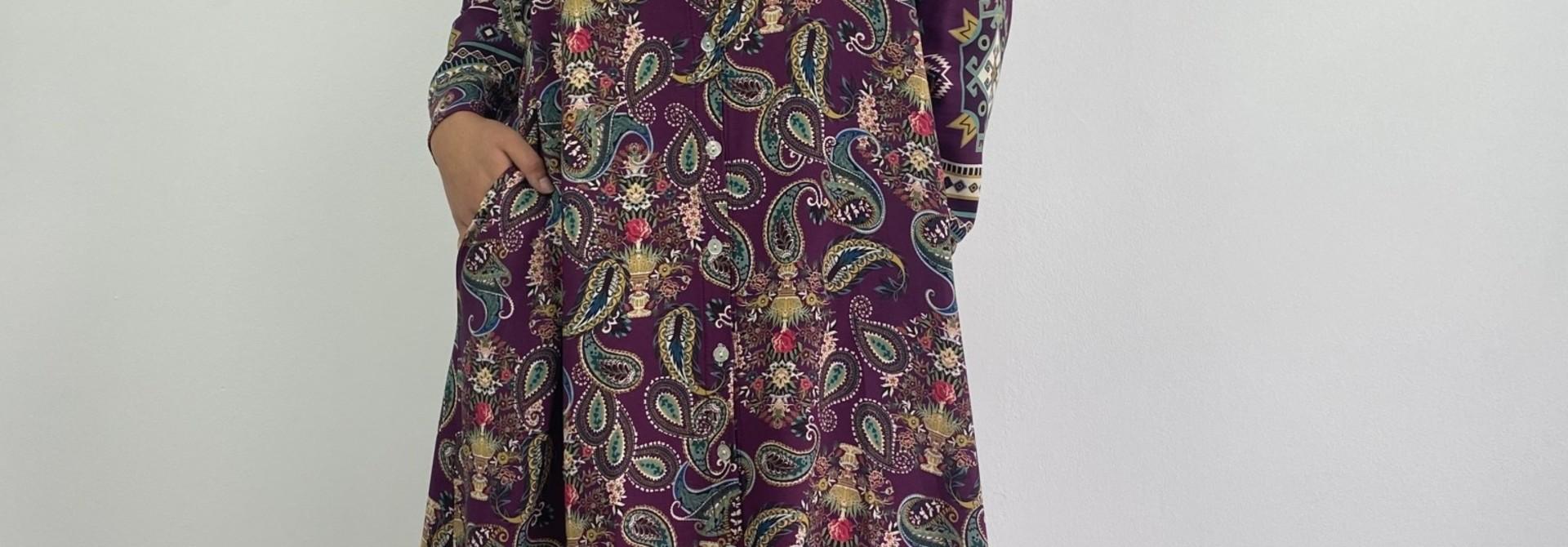 Katiya midi dress Violet