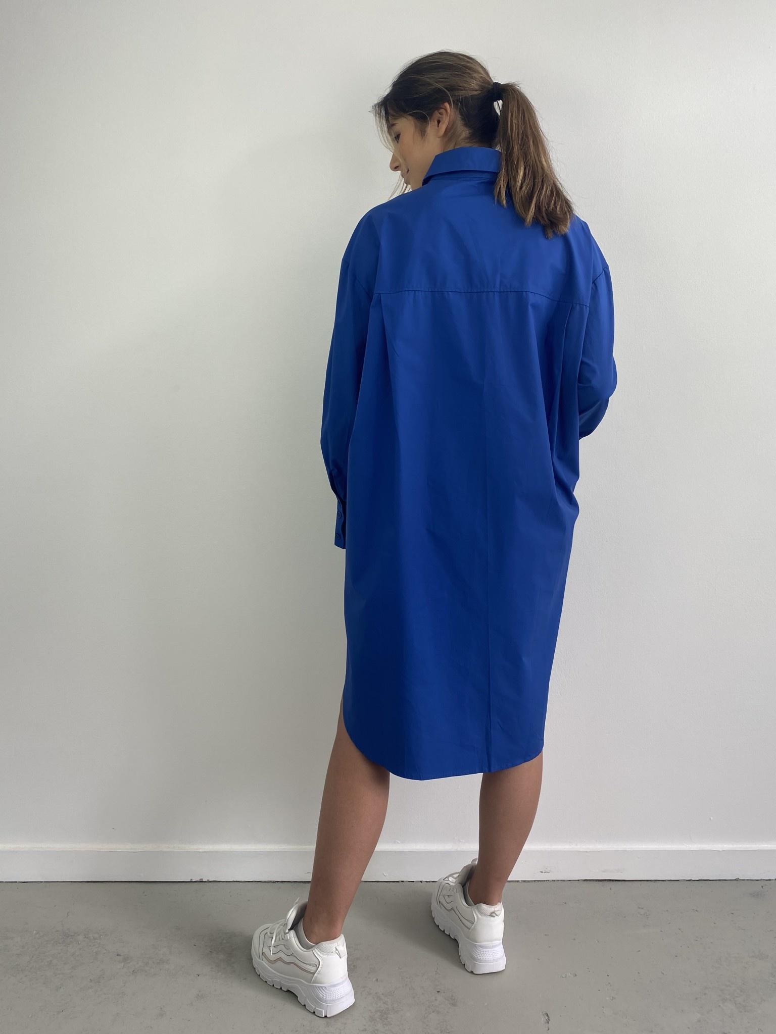 Jordell oversized shirtdress Cobalt-2