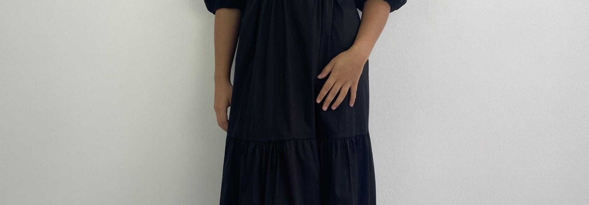Beth urban shirtdress Black
