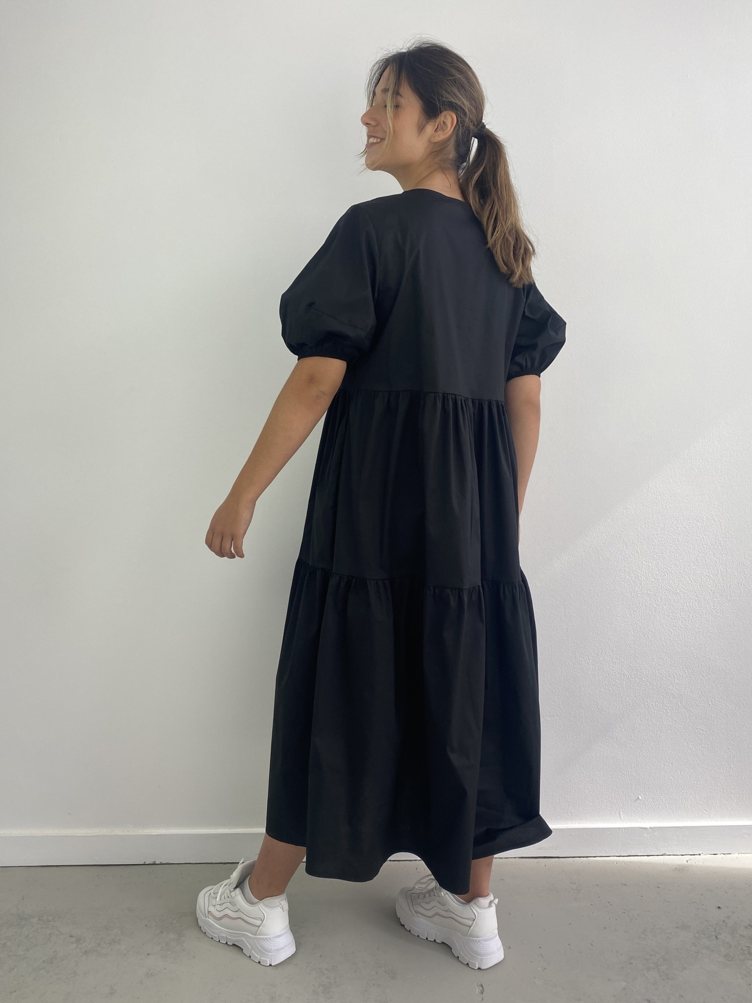 Jovie urban dress Black-2
