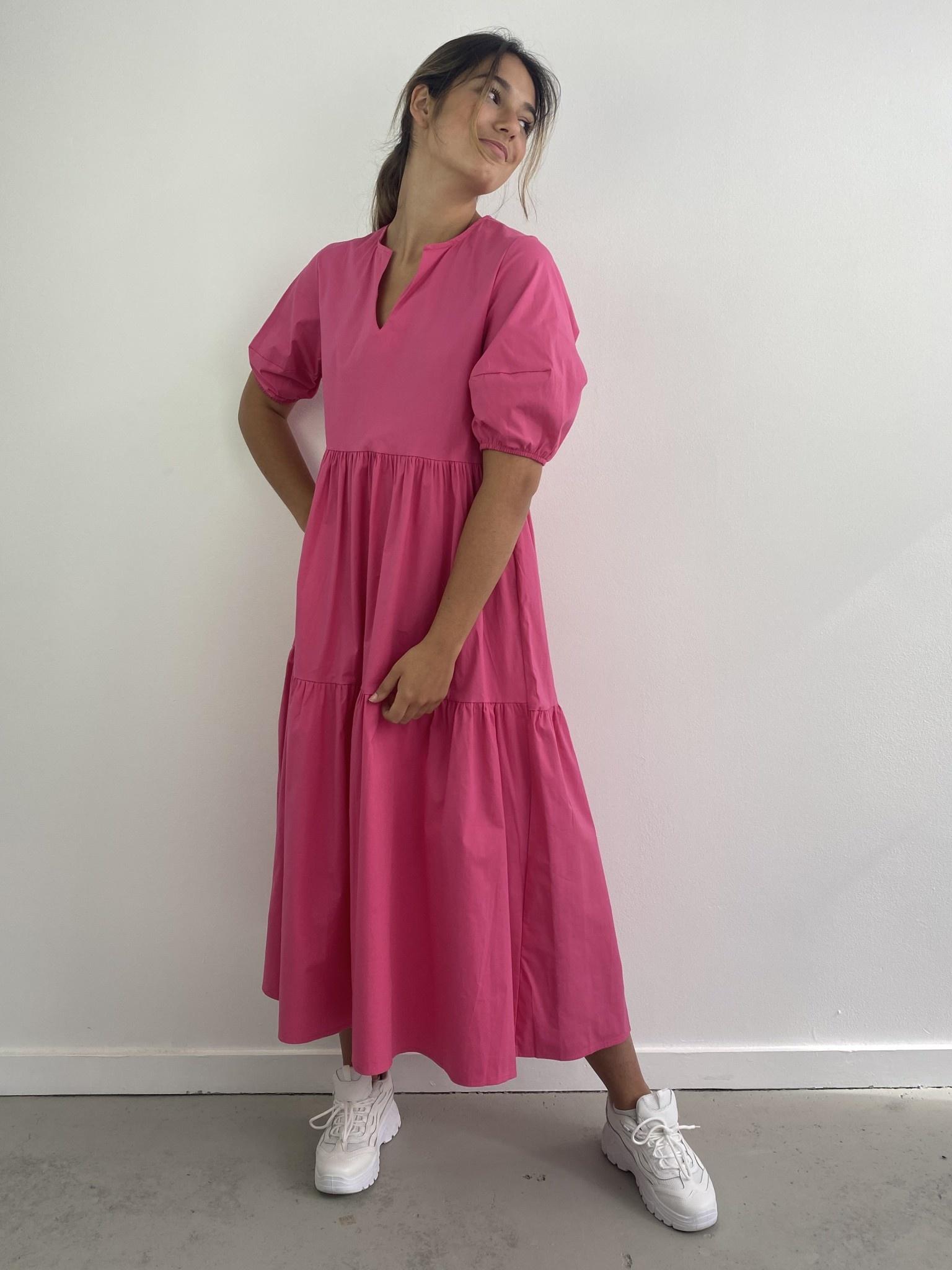 Jovie urban dress Fushia-2