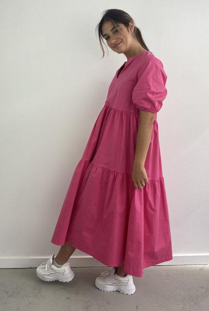 Jovie urban dress Fushia